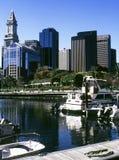 Vista de Boston imagen de archivo libre de regalías