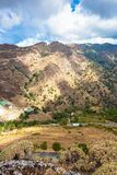 Vista de Bova Superiore em Reggio Calabria Fotografia de Stock
