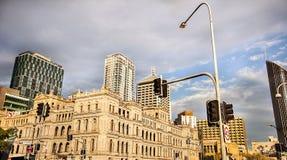 Vista de Brisbane Australia Imagen de archivo libre de regalías