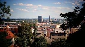 Vista de Brno Foto de archivo