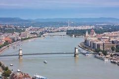 Vista de Budapest Imagens de Stock Royalty Free