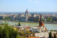 Vista de Budapest imagen de archivo libre de regalías