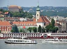 Vista de Budapest Imagenes de archivo