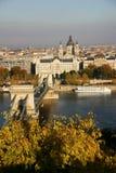 Vista de Budapest Foto de archivo libre de regalías
