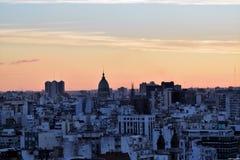 Vista de Buenos Aires, Argentina, 18a de fevereiro de 2017 Fotografia de Stock Royalty Free