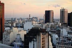 Vista de Buenos Aires, Argentina, 18a de fevereiro de 2017 Imagens de Stock