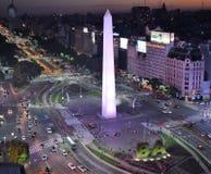 Vista de Buenos Aires, Argentina, 18a de fevereiro de 2017 Foto de Stock Royalty Free