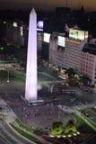 Vista de Buenos Aires, Argentina, 18a de fevereiro de 2017 Imagem de Stock Royalty Free