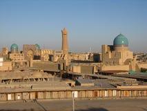 Vista de Bukhara Foto de Stock Royalty Free