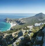 Vista de Cabo de Buena Esperanza foto de archivo