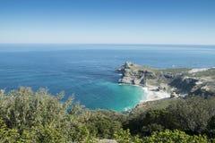 Vista de Cabo de Buena Esperanza imágenes de archivo libres de regalías