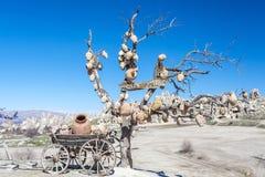 Vista de Capadocia Fotos de archivo
