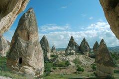 Vista de Cappadocia Imagem de Stock Royalty Free