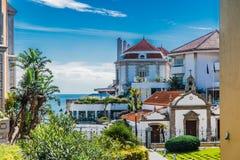 Vista de Cascais, Portugal foto de stock