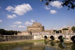 Vista de Castel Sant Angeleo Foto de archivo libre de regalías