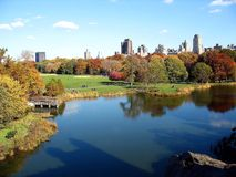 Vista de Central Park fotos de stock royalty free