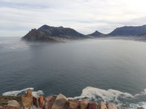 A vista de Chapman& x27; pico de s, perto de Cape Town, África do Sul fotografia de stock