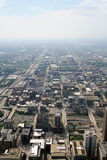 Vista de Chicago Imagen de archivo