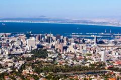 Vista de Ciudad del Cabo fotos de archivo