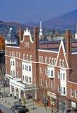 Vista de Claremont, NH da torre de Bell Imagens de Stock