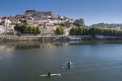 Vista de Coimbra, Portugal Imágenes de archivo libres de regalías