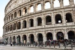 Vista de Colosseum Fotos de Stock Royalty Free