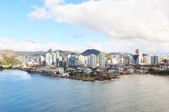 Vista de construções de Vitoria, Vila Velha, Espirito Santo, Brasil Imagens de Stock Royalty Free