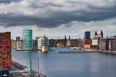 Vista de Copenhaga norte imagens de stock