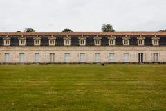 Vista de Corderie Royale en Rochefort imagenes de archivo