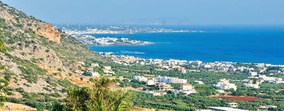 Vista de Creta, Grecia Imagenes de archivo