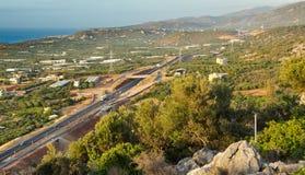 Vista de Creta, Grecia Fotos de archivo libres de regalías