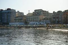 Vista de Crotone, Calabria Fotos de Stock Royalty Free