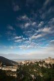 Vista de Cuenca, España fotografía de archivo