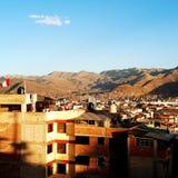 Vista de Cusco, Perú Fotografía de archivo libre de regalías