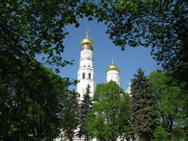 Vista de dôme d'église Photos libres de droits