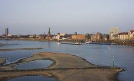 Vista de Düsseldorf en Alemania Fotos de archivo libres de regalías