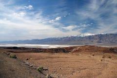 Vista de Death Valley Imagem de Stock Royalty Free