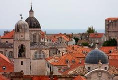 Vista de Dubrovnik Imagens de Stock Royalty Free