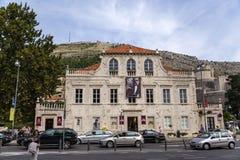 Vista de Dubrovnik Imagen de archivo