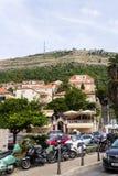 Vista de Dubrovnik Fotografía de archivo