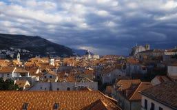 Vista de Dubrovnik Fotos de archivo libres de regalías