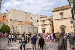 Vista de Dubrovnik viejo Fotos de archivo libres de regalías