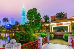Vista de 101 e arquitetura tradicional Foto de Stock Royalty Free