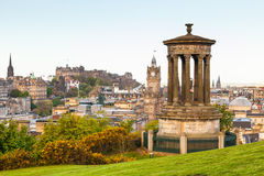 Vista de Edimburgo Foto de archivo