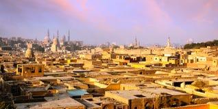 Vista de El Cairo Fotos de archivo