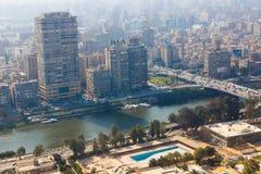 Vista de El Cairo Foto de archivo libre de regalías
