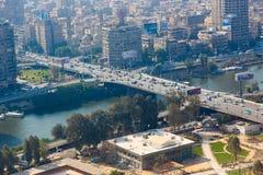 Vista de El Cairo Imagen de archivo