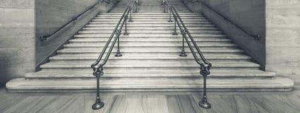 Vista de escadas da estação da união fotografia de stock