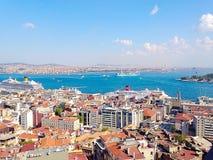 Vista de Estambul Fotografía de archivo libre de regalías