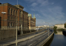 Vista de Estocolmo foto de archivo
